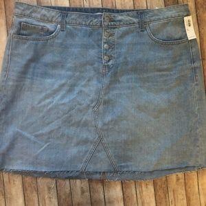 NWT Old Navy Denim Skirt